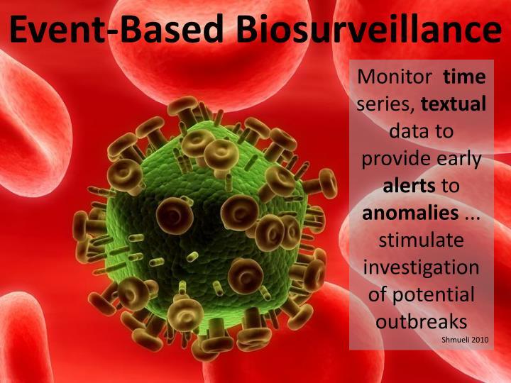 Event-Based Biosurveillance