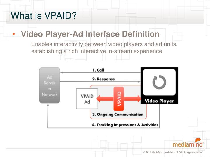 What is VPAID?