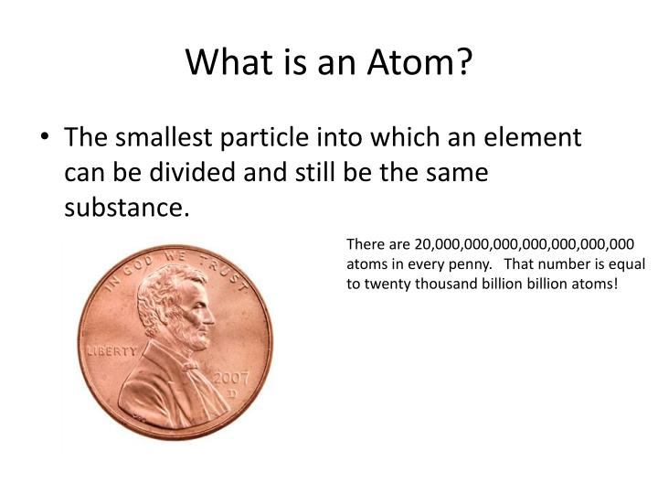What is an Atom?