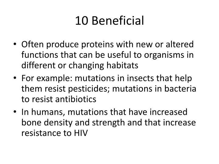 10 Beneficial