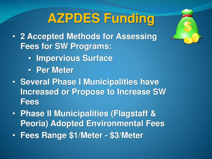 AZPDES Funding