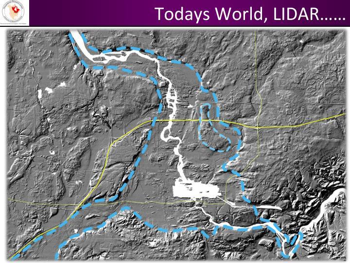 Todays World, LIDAR……