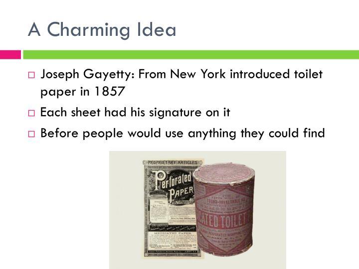 A Charming Idea