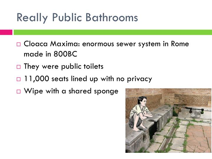 Really Public Bathrooms
