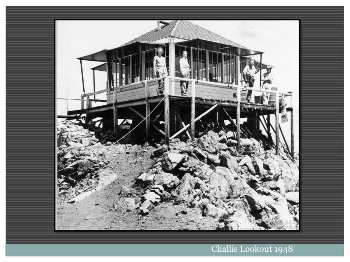 Challis Lookout 1948