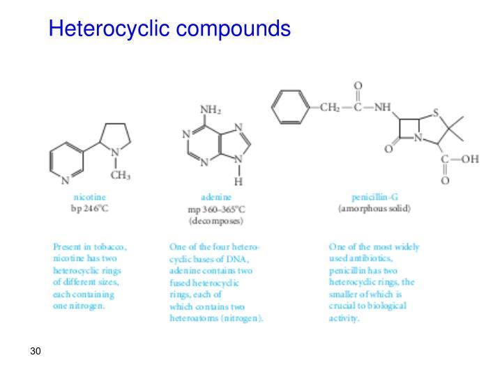 Heterocyclic compounds