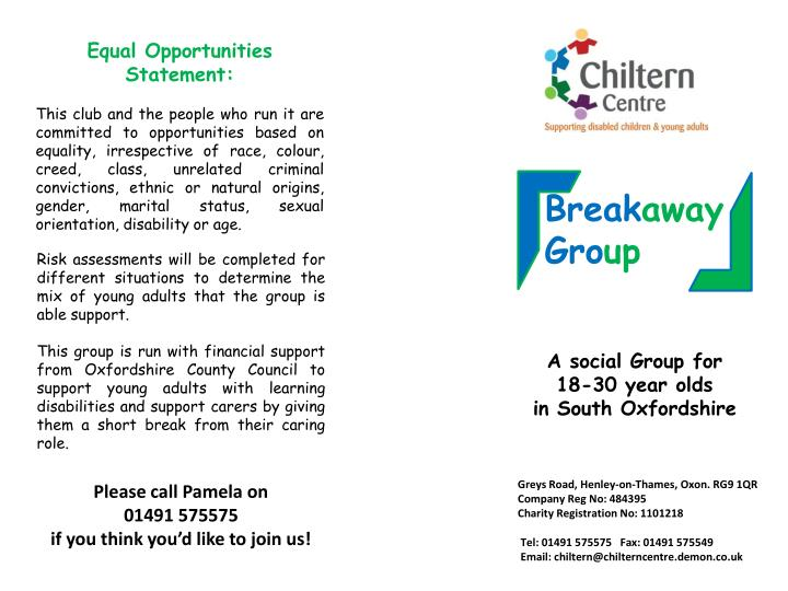 Equal Opportunities Statement: