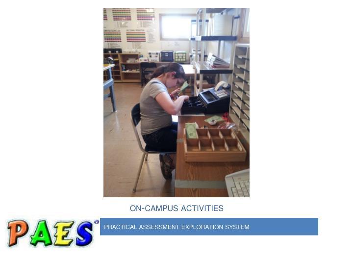 on-campus activities