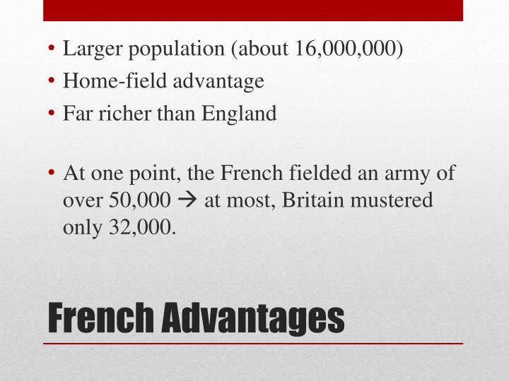 Larger population (about 16,000,000)