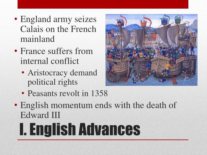 England army seizes
