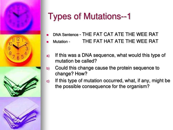 Types of Mutations--1