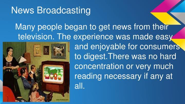 News Broadcasting