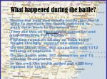 what happened during the battle