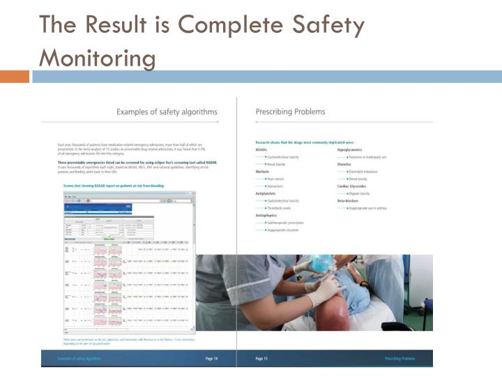 The Result is Complete Safety Monitoring