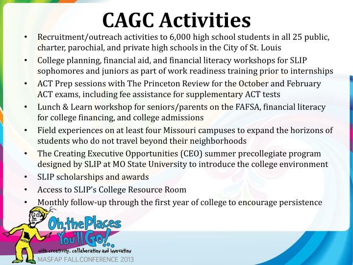CAGC Activities