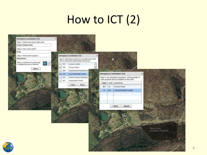 How to ICT (2)