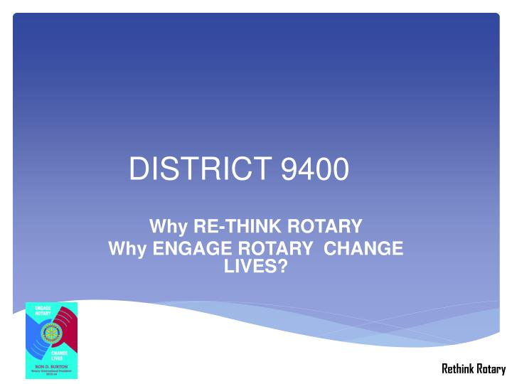 District 9400