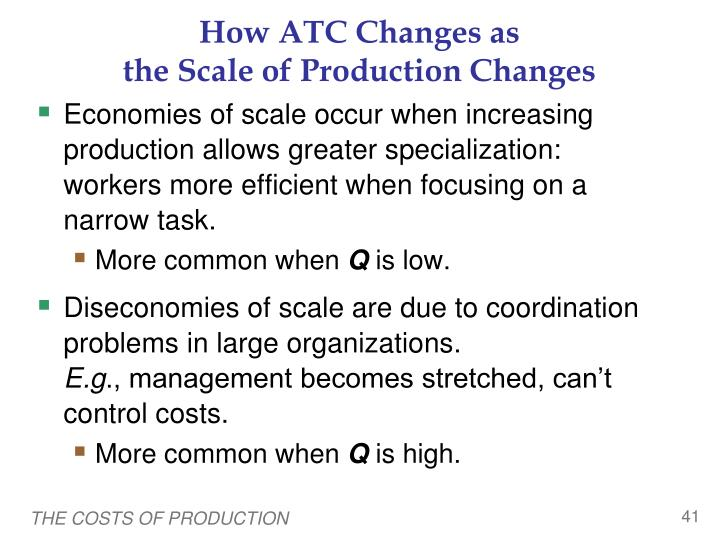 How ATC Changes as