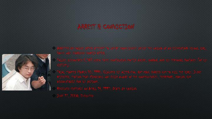 Arrest & Conviction