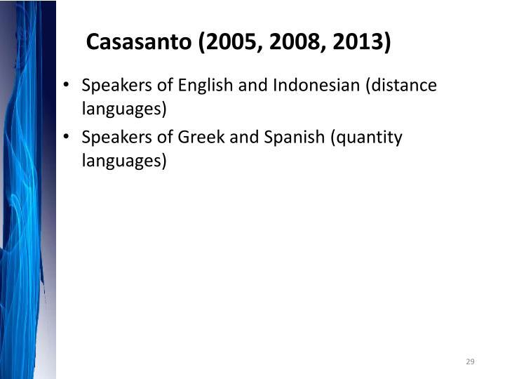 Casasanto
