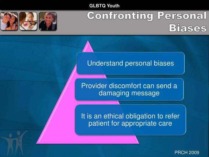 Confronting Personal Biases