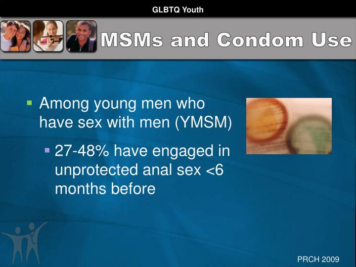 MSMs and Condom Use