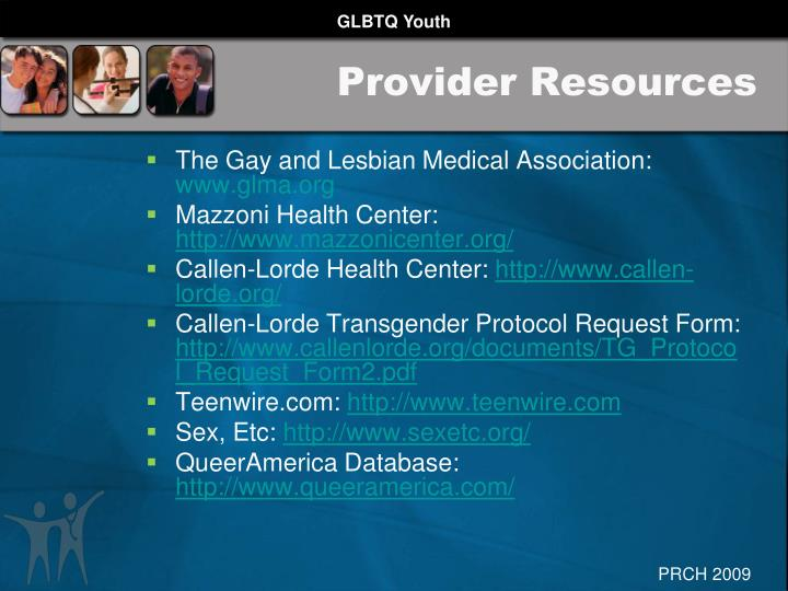 Provider Resources