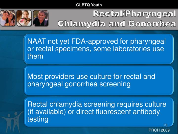 Rectal/Pharyngeal Chlamydia and Gonorrhea