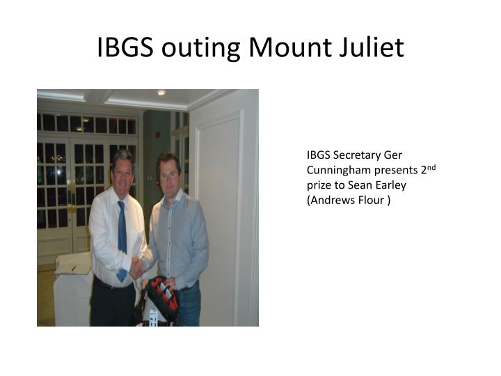 Ibgs outing mount juliet2