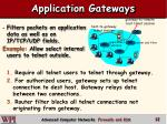 application gateways