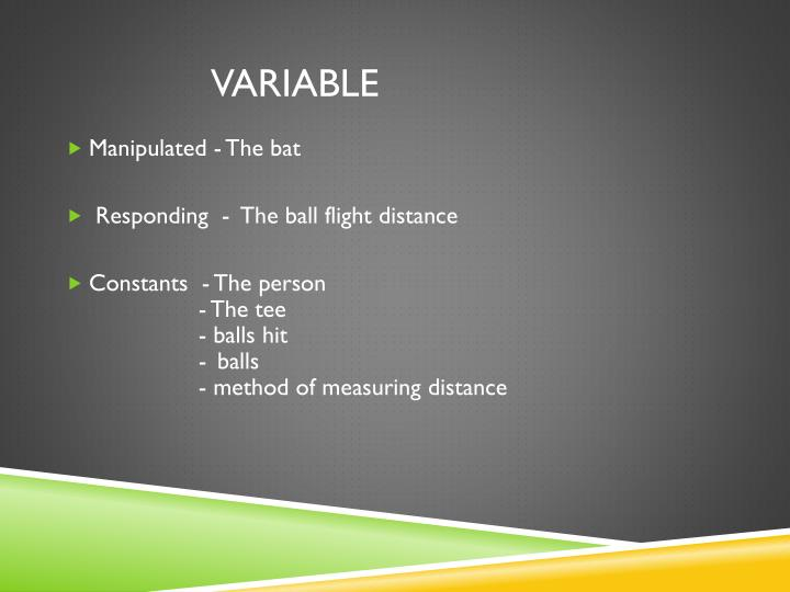VARIABLE