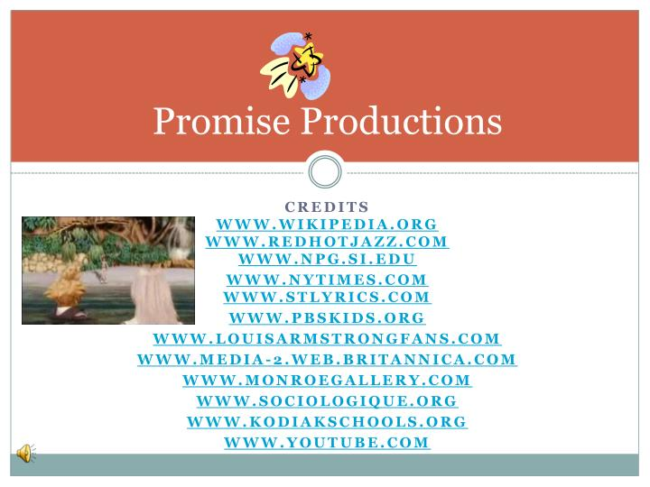 Promise Productions