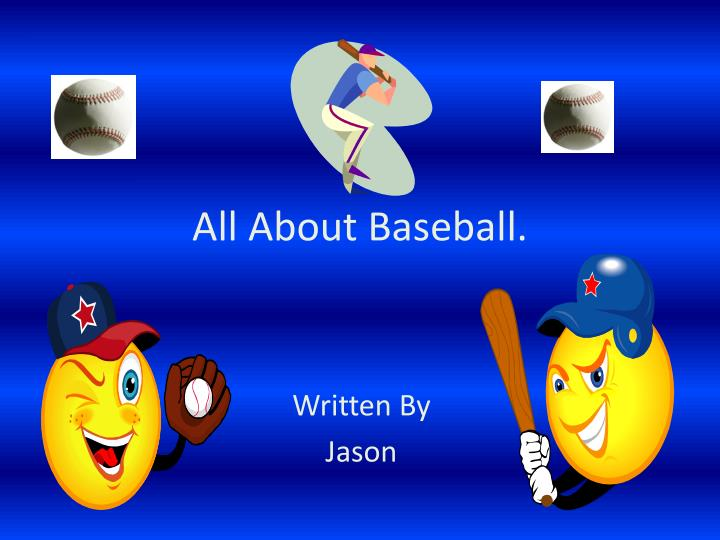 all about baseball
