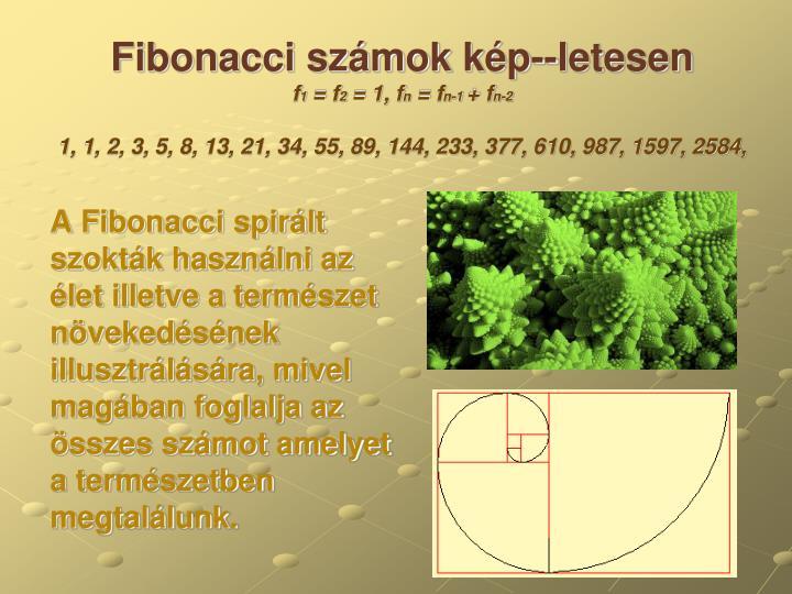 Fibonacci számok