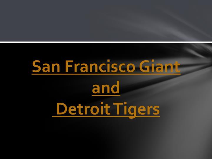 San Francisco Giant