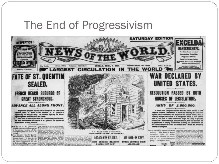 The End of Progressivism