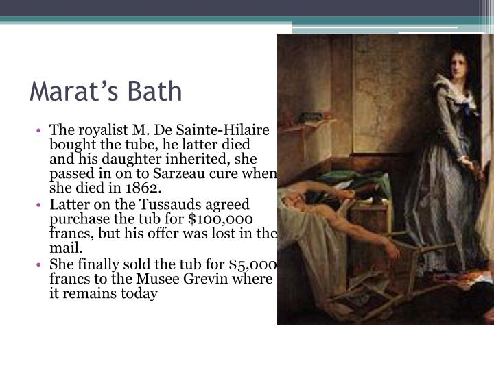 Marat's Bath