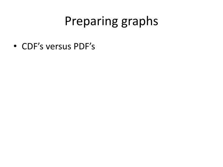 Preparing graphs