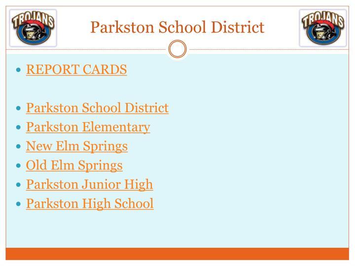Parkston School District