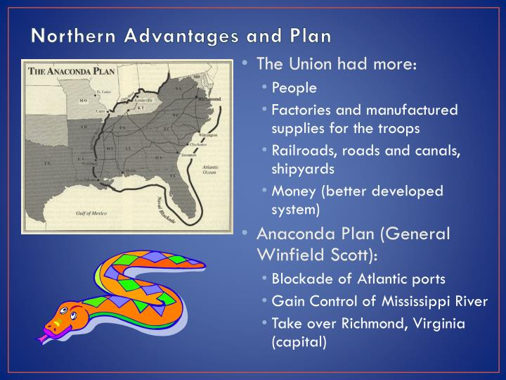 Northern Advantages and Plan