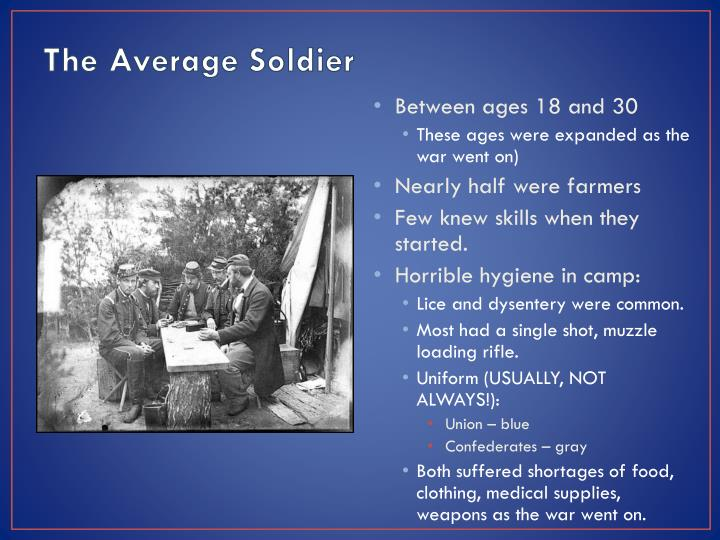 The Average Soldier
