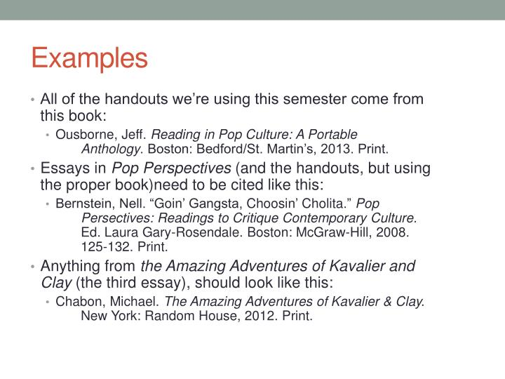 All of the handouts we're using this semester come from this book: