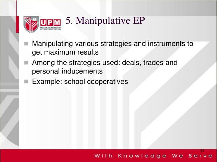 5. Manipulative EP