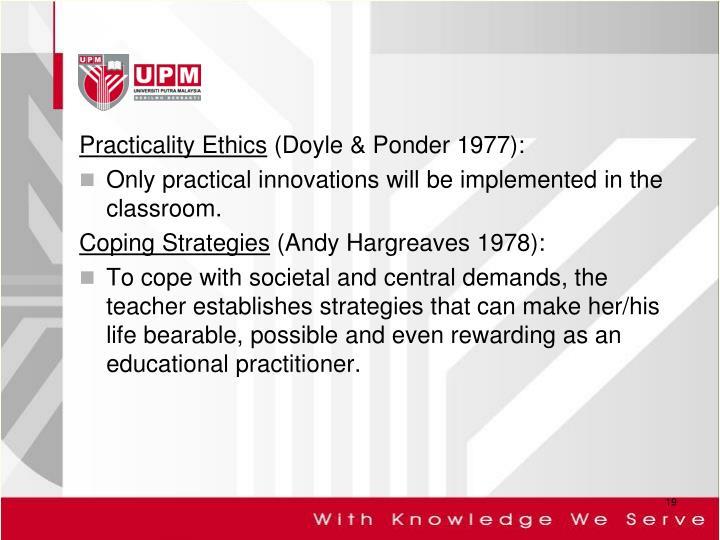 Practicality Ethics