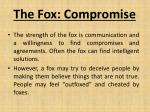 the fox compromise