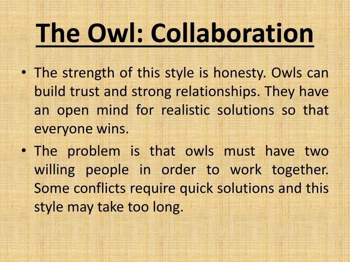 The Owl: Collaboration