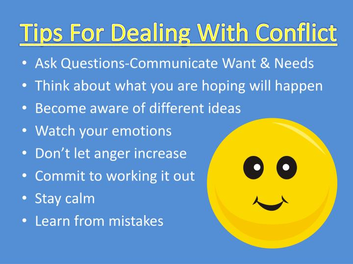 Tips For Dealing With