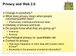 privacy and web 2 0