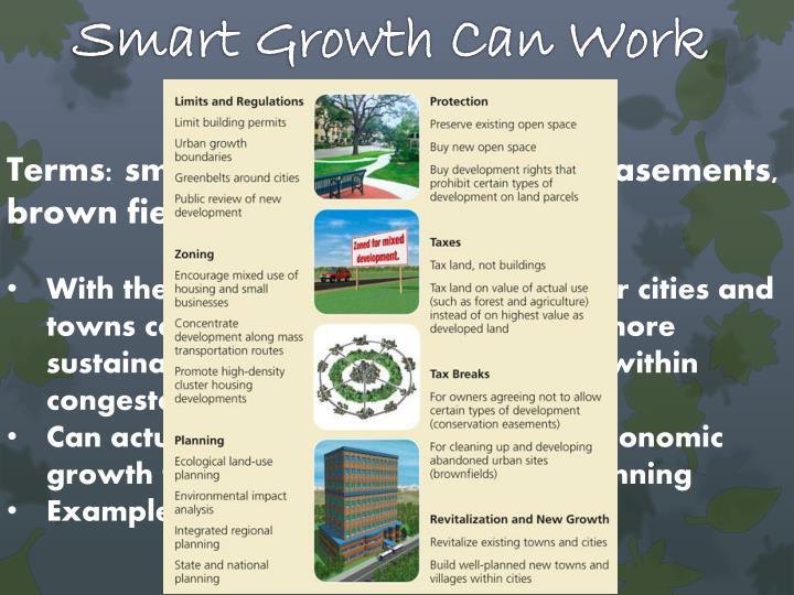 Smart Growth Can Work