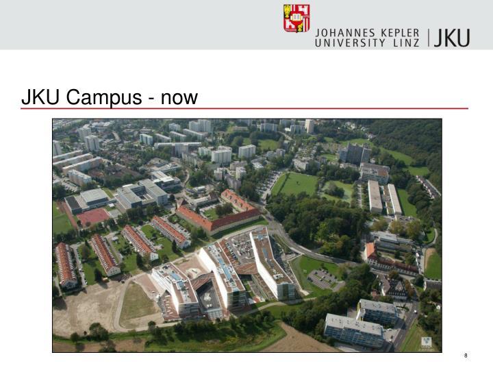 JKU Campus - now